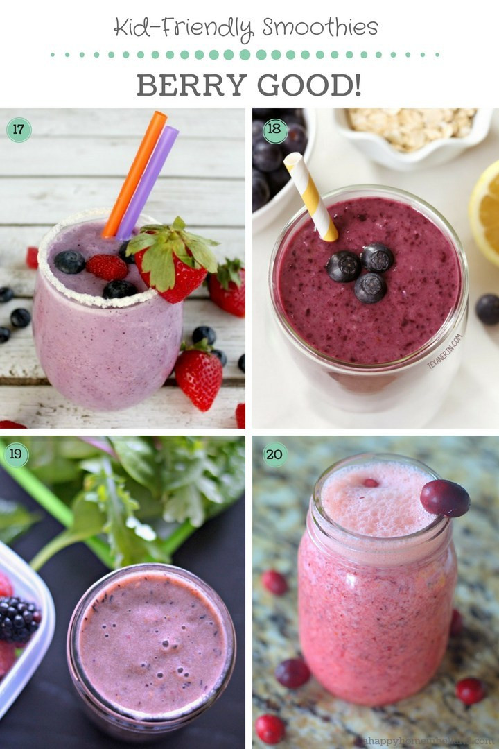 Healthy Kid Friendly Smoothies  Smoothies For Kids The Best Healthy Kid Friendly Recipes