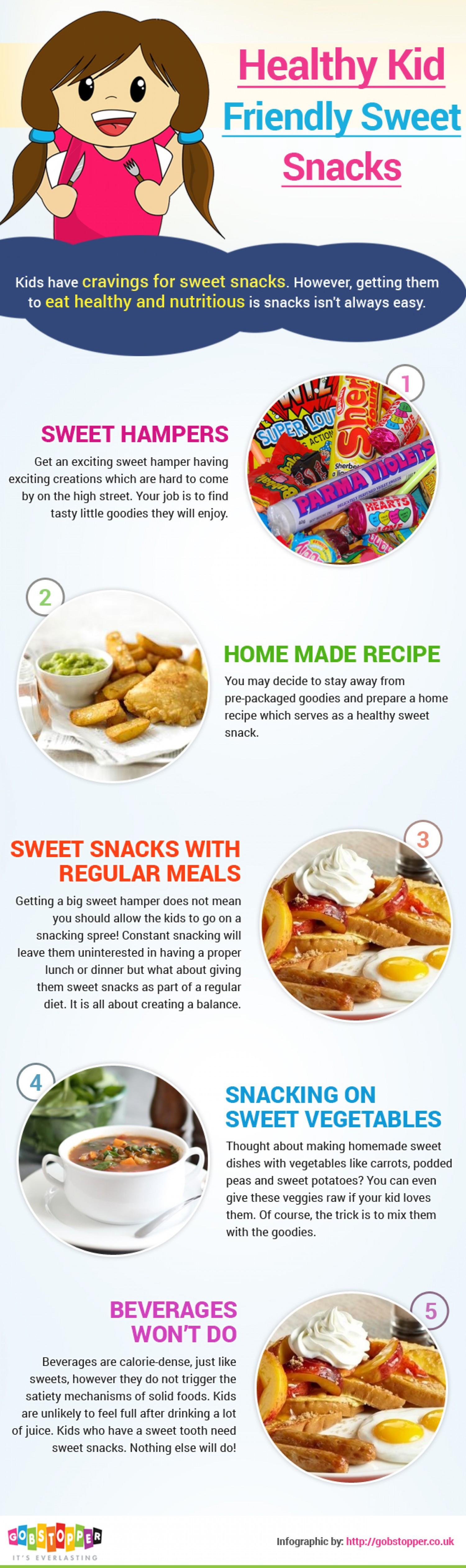 Healthy Kid Friendly Snacks  Healthy Kid Friendly Sweet Snacks