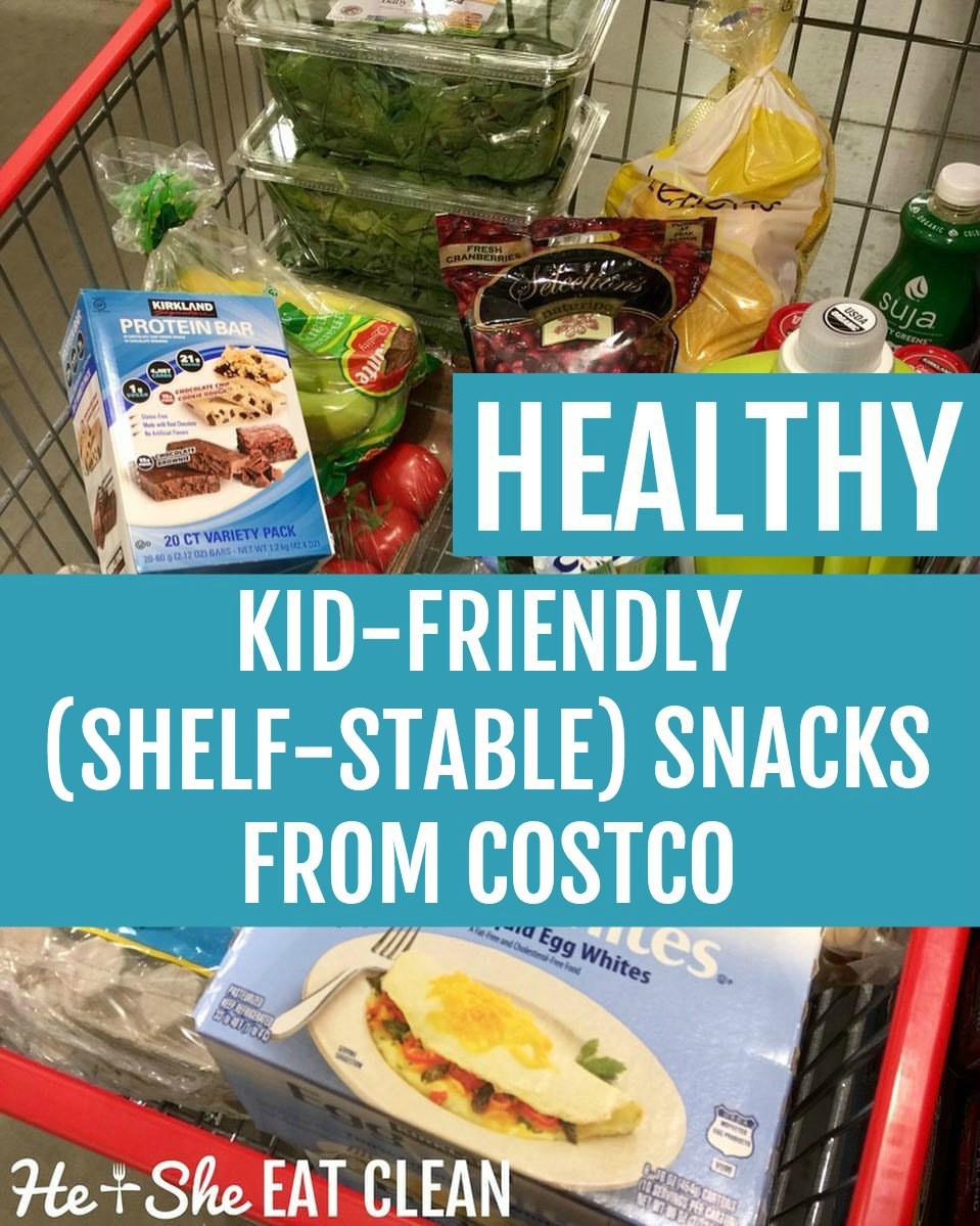 Healthy Kid Friendly Snacks  Healthy Kid Friendly Snacks from Costco Shelf Stable