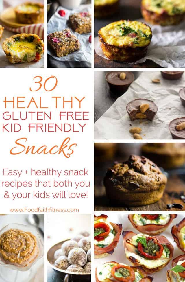 Healthy Kid Friendly Snacks  30 Kid Friendly Gluten Free Snack Ideas