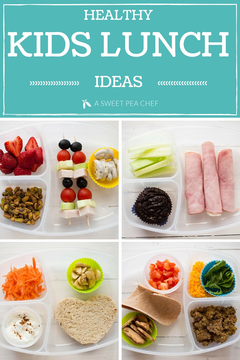 Healthy Kid Lunches  Healthy Kids Lunch • A Sweet Pea Chef