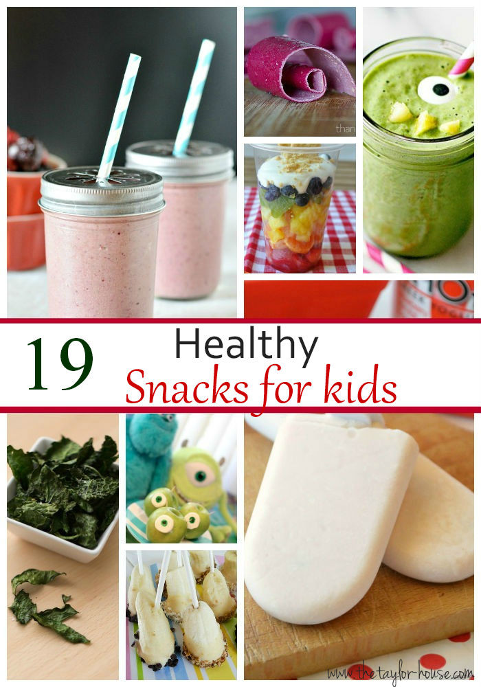 Healthy Kid Snacks  19 Kids Healthy Snack Ideas The Taylor House