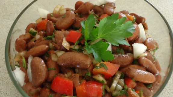Healthy Kidney Bean Recipes  Kidney Bean Salad Recipe Simplicity with Nutrition