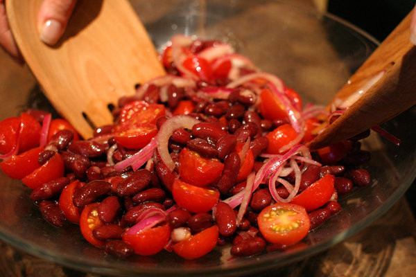 Healthy Kidney Bean Recipes  Kidney Bean Red ion And Tomato Salad Recipe NYT Cooking