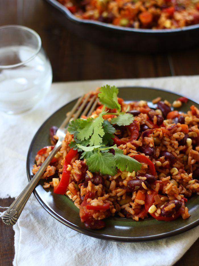Healthy Kidney Bean Recipes  Mexican Kidney Bean Fried Rice Connoisseurus Veg