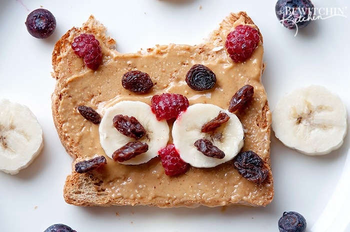 Healthy Kids Breakfast  Healthy Kids Breakfast Ideas Kitty Toast The Bewitchin