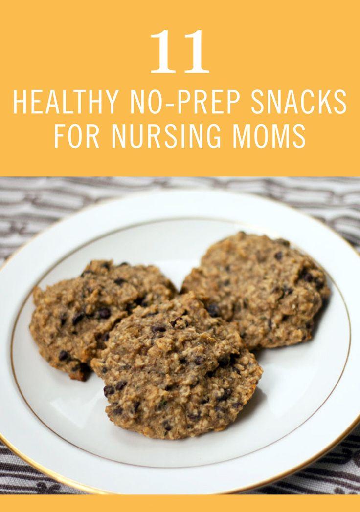 Healthy Lactation Cookies Recipe  11 Healthy No Prep Snacks for Nursing Moms