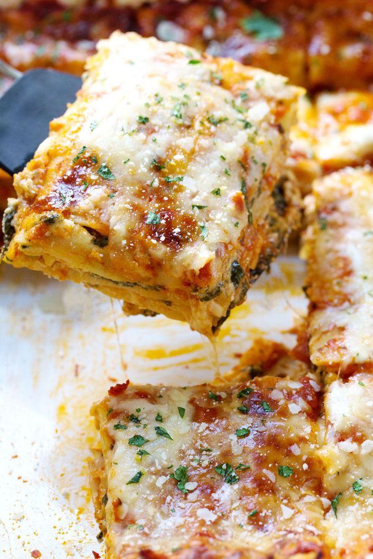 Healthy Lasagna Noodles  100 Healthy Lasagna Recipes on Pinterest