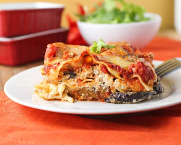 Healthy Lasagna Noodles  Eggplant Parmesan Lasagna