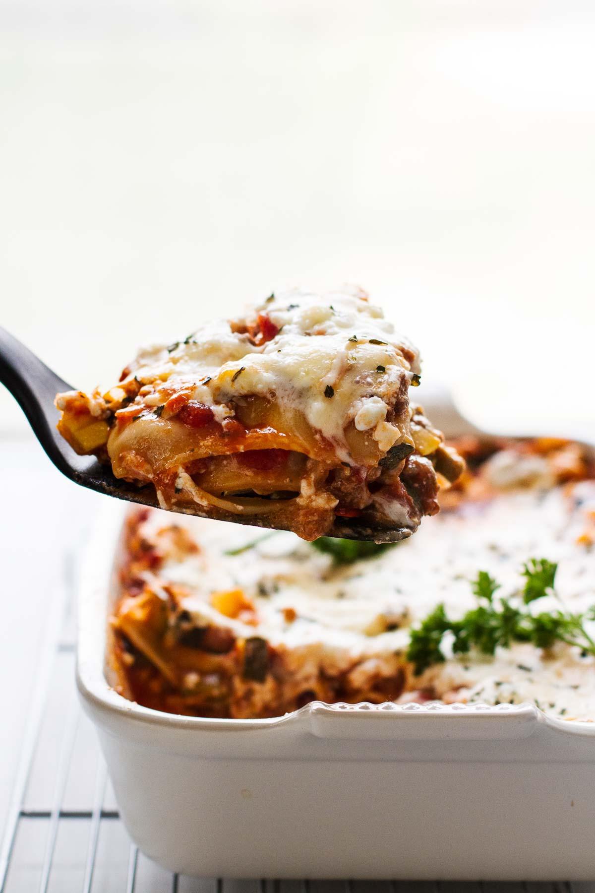 Healthy Lasagna Noodles  The BEST Easy Healthy Lasagna Recipe Jar Lemons