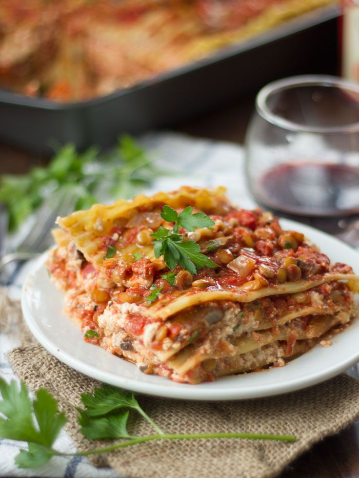 Healthy Lasagna Noodles  25 best ideas about Ve arian lasagna recipe on