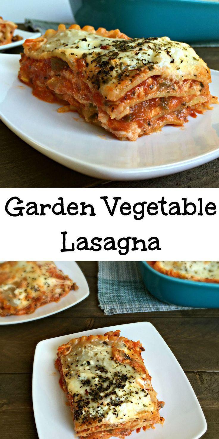 Healthy Lasagna Noodles  Garden Ve able Lasagna