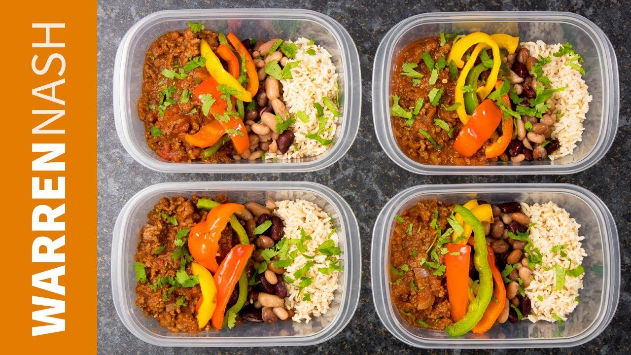Healthy Lean Ground Beef Recipes  Chilli Beef Meal Prep Recipe High Protein with Lean