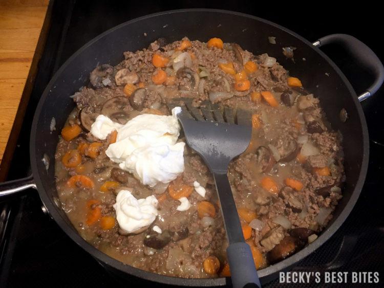 Healthy Lean Ground Beef Recipes  Lean Ground Beef Stroganoff Becky s Best Bites