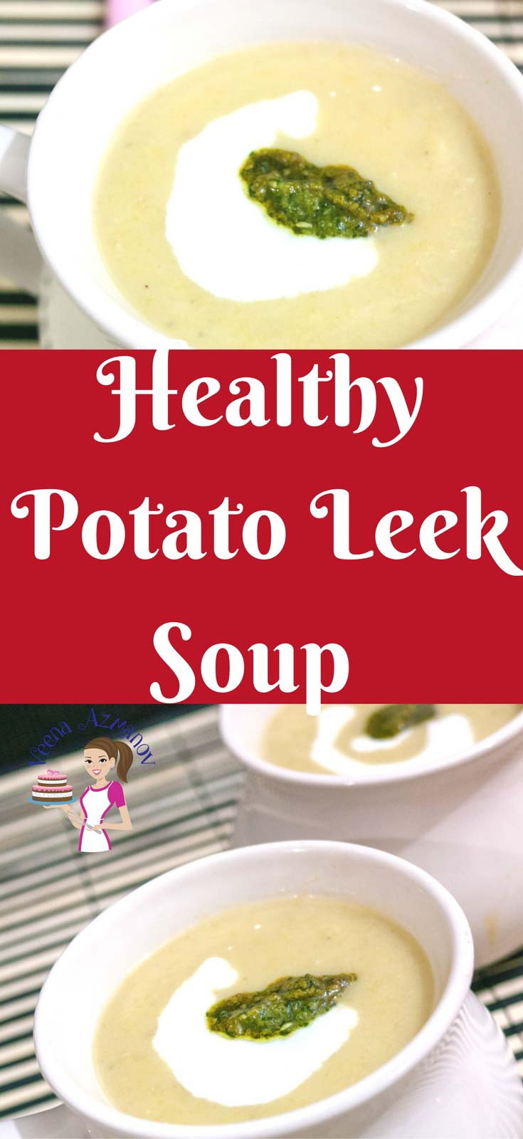 Healthy Leek And Potato Soup  Healthy Potato Leek Soup Recipe aka Skinny Potato Leek