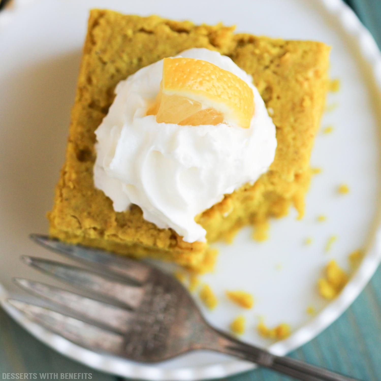Healthy Lemon Dessert Recipes  Easy Healthy Lemon Snack Cake Recipe