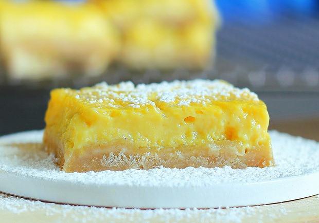 Healthy Lemon Dessert Recipes  Healthy Lemon Squares