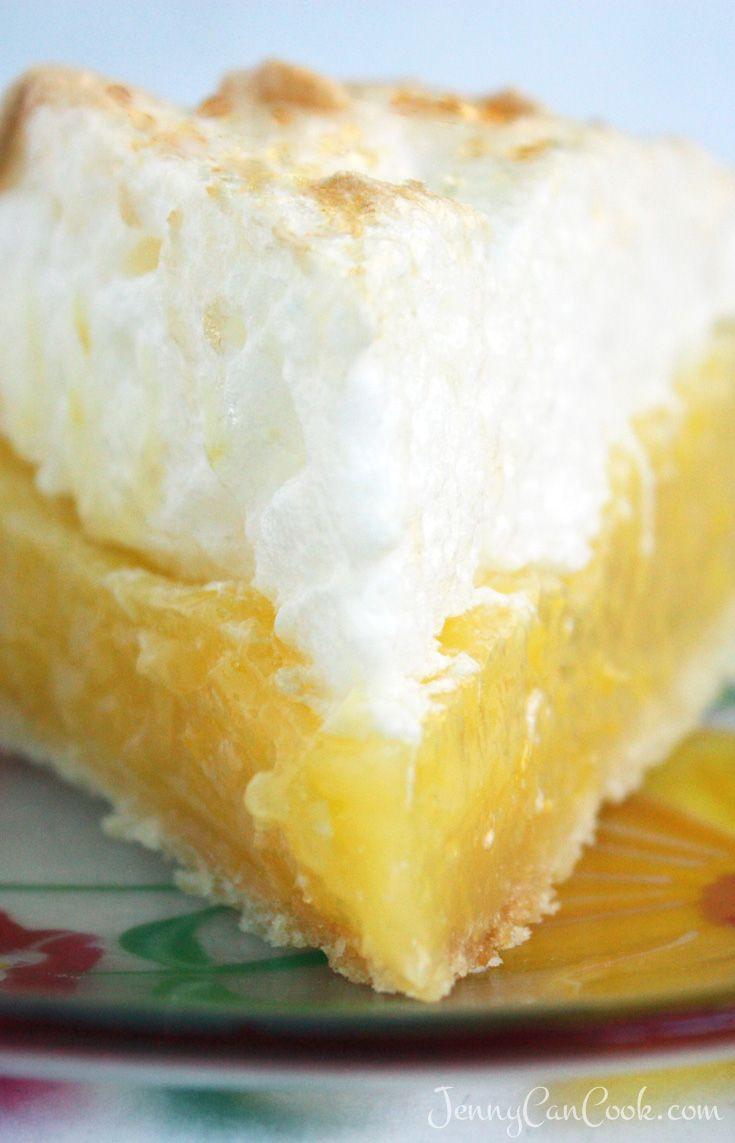 Healthy Lemon Meringue Pie  Lemon Meringue Pie Recipe