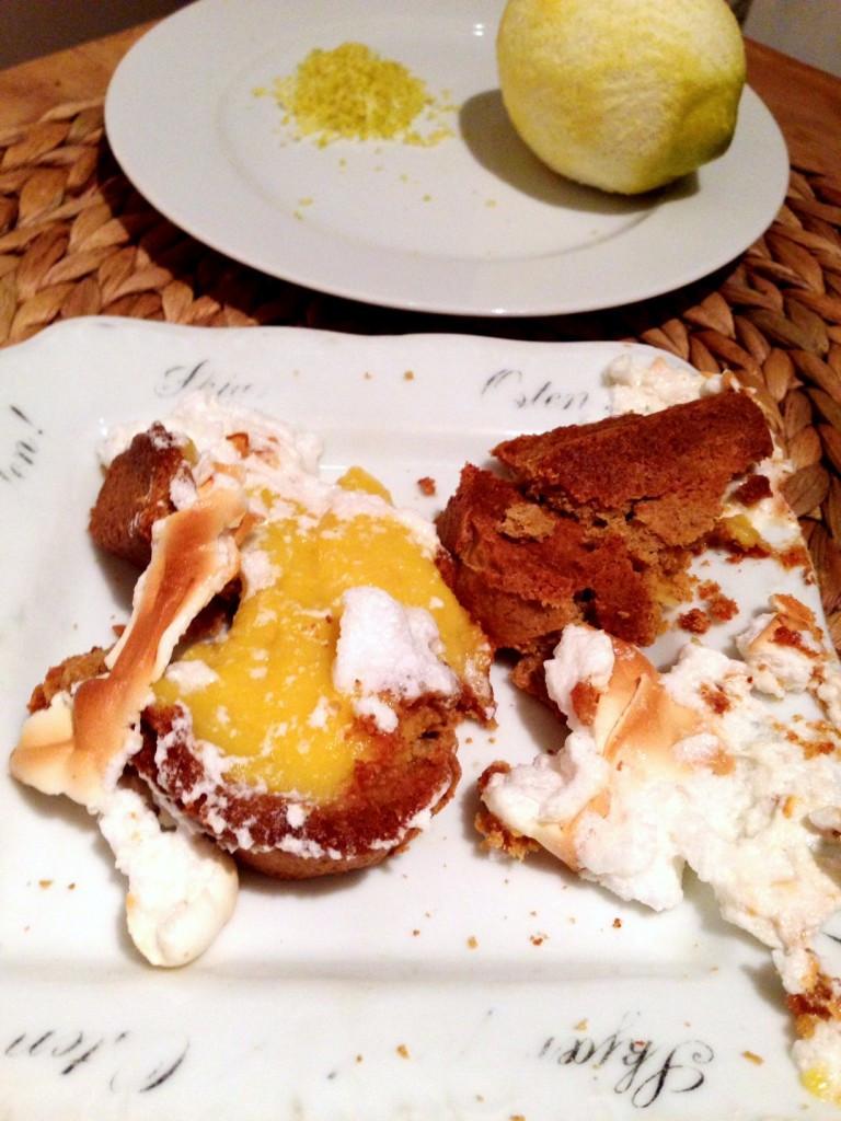 Healthy Lemon Meringue Pie  Healthy lemon meringue pie