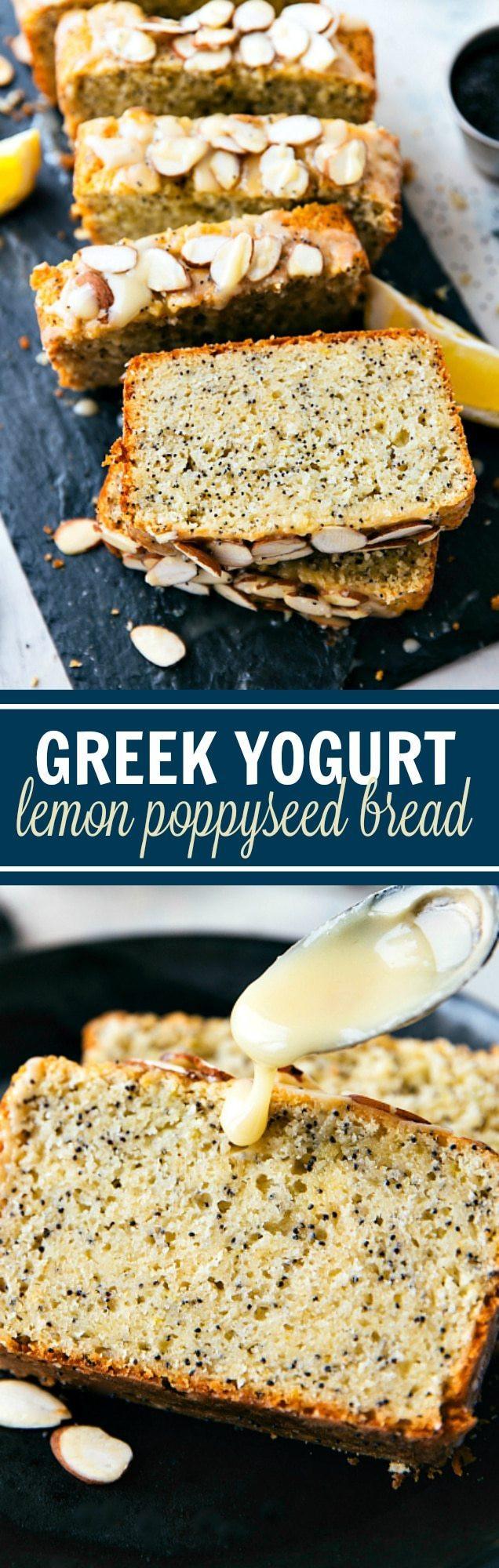 Healthy Lemon Poppy Seed Bread  healthy lemon poppy seed bread