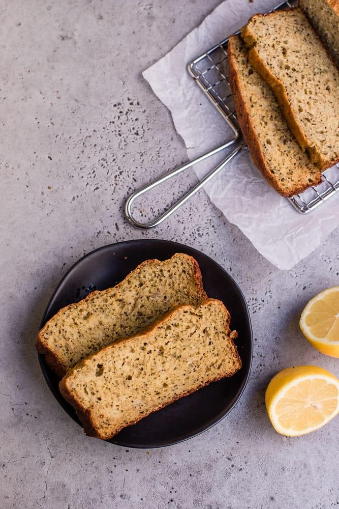 Healthy Lemon Poppy Seed Bread  Healthy Lemon Poppy Seed Banana Bread — Peanut Butter Plus