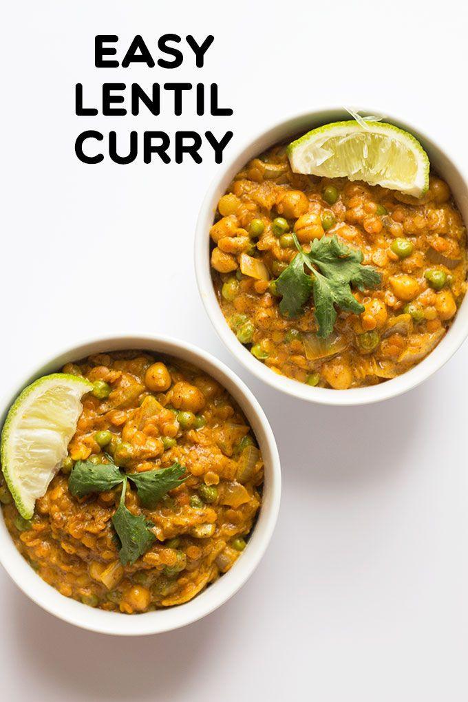 Healthy Lentil Recipes  25 best ideas about Lentil Curry on Pinterest