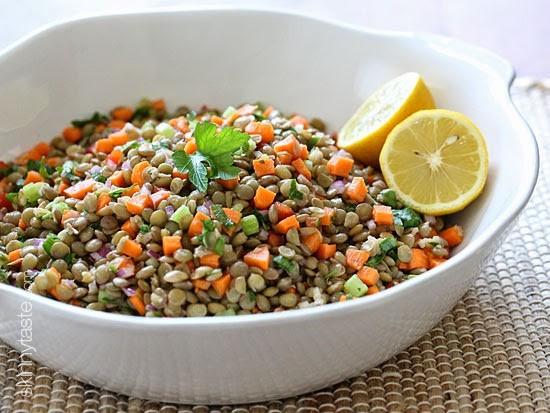 Healthy Lentil Recipes  Lentil Salad