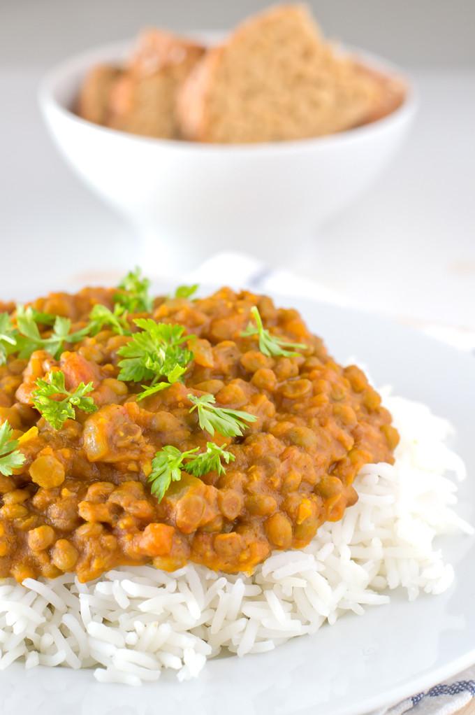 Healthy Lentil Recipes  Vegan Lentil Curry