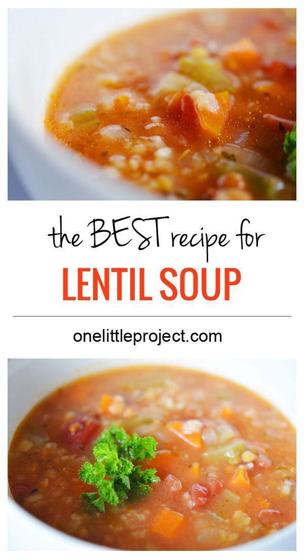 Healthy Lentil Recipes  9 best images about Lentil Soup Recipes Lentil Recipes on