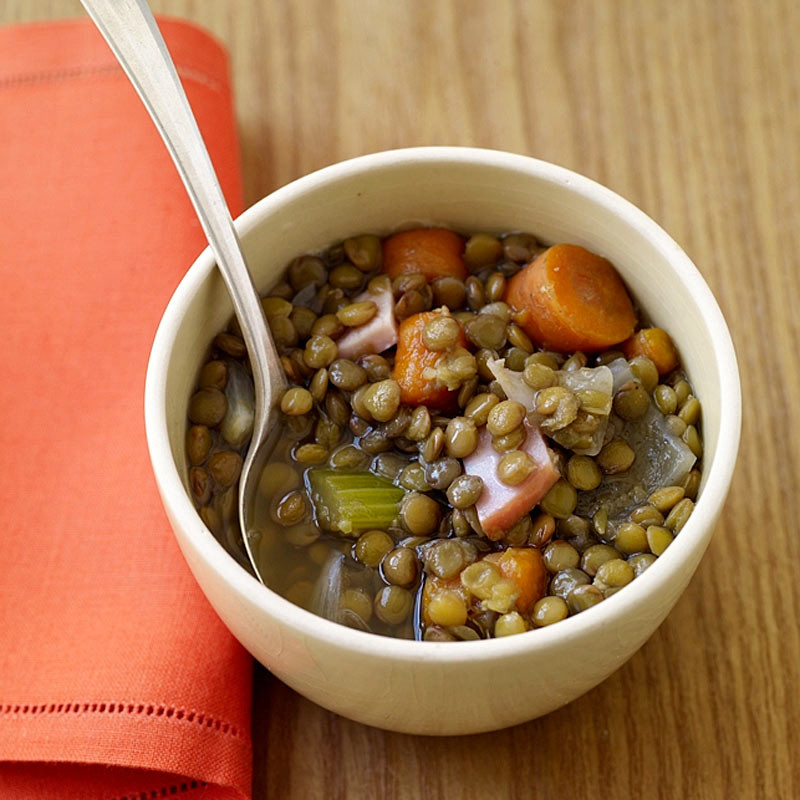 Healthy Lentil Recipes For Weight Loss  Slow Cooker Lentil Soup Recipes