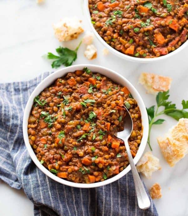 Healthy Lentil Recipes  Instant Pot Lentil Soup