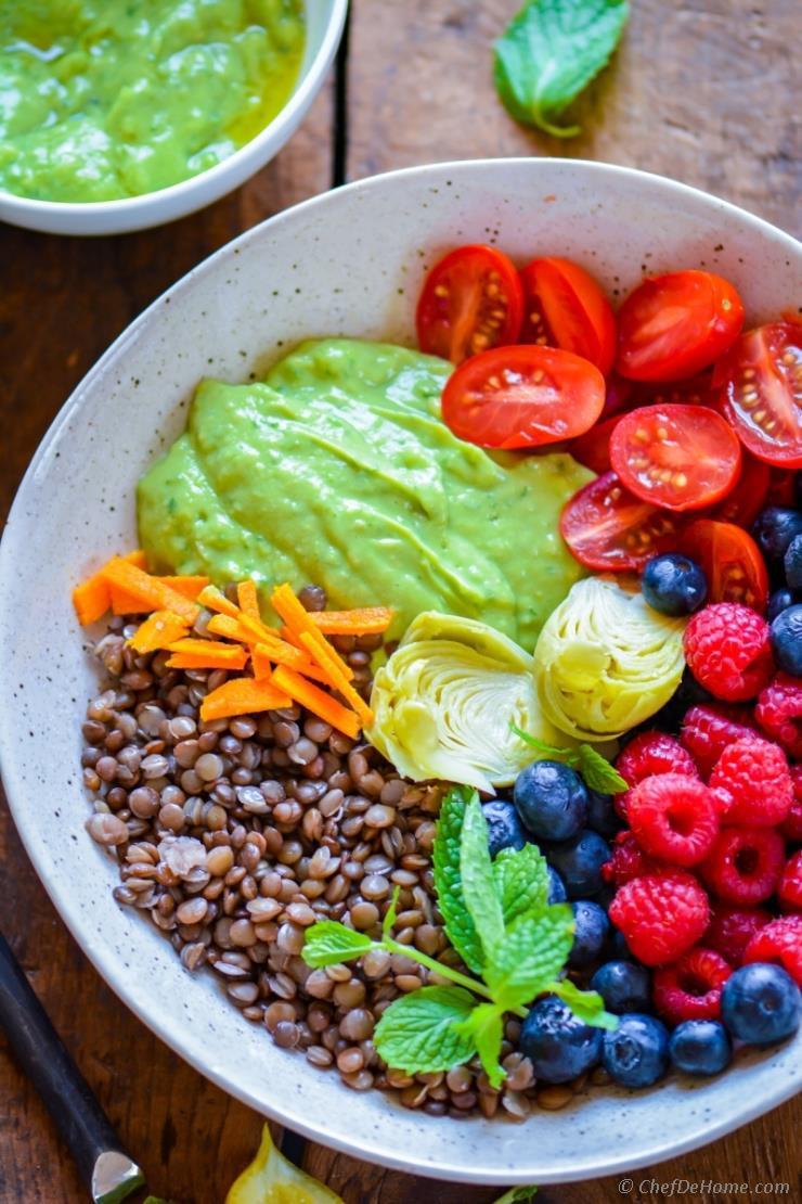 Healthy Lentil Recipes  Healthy Summer Glow Lentil Salad Recipe