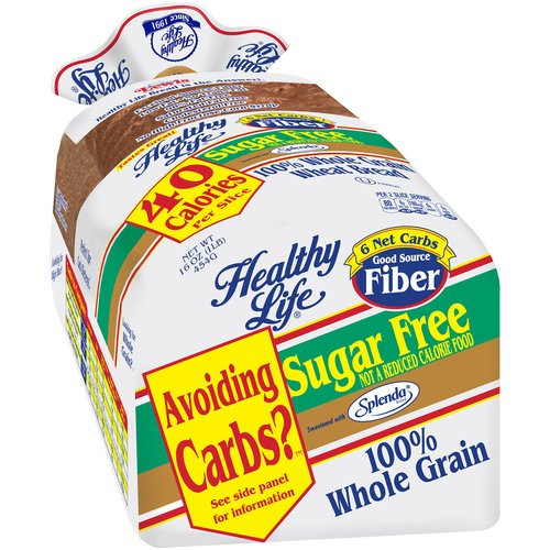 Healthy Life Bread Walmart  Healthy Life Whole Wheat Flaxseed Bread 16 oz