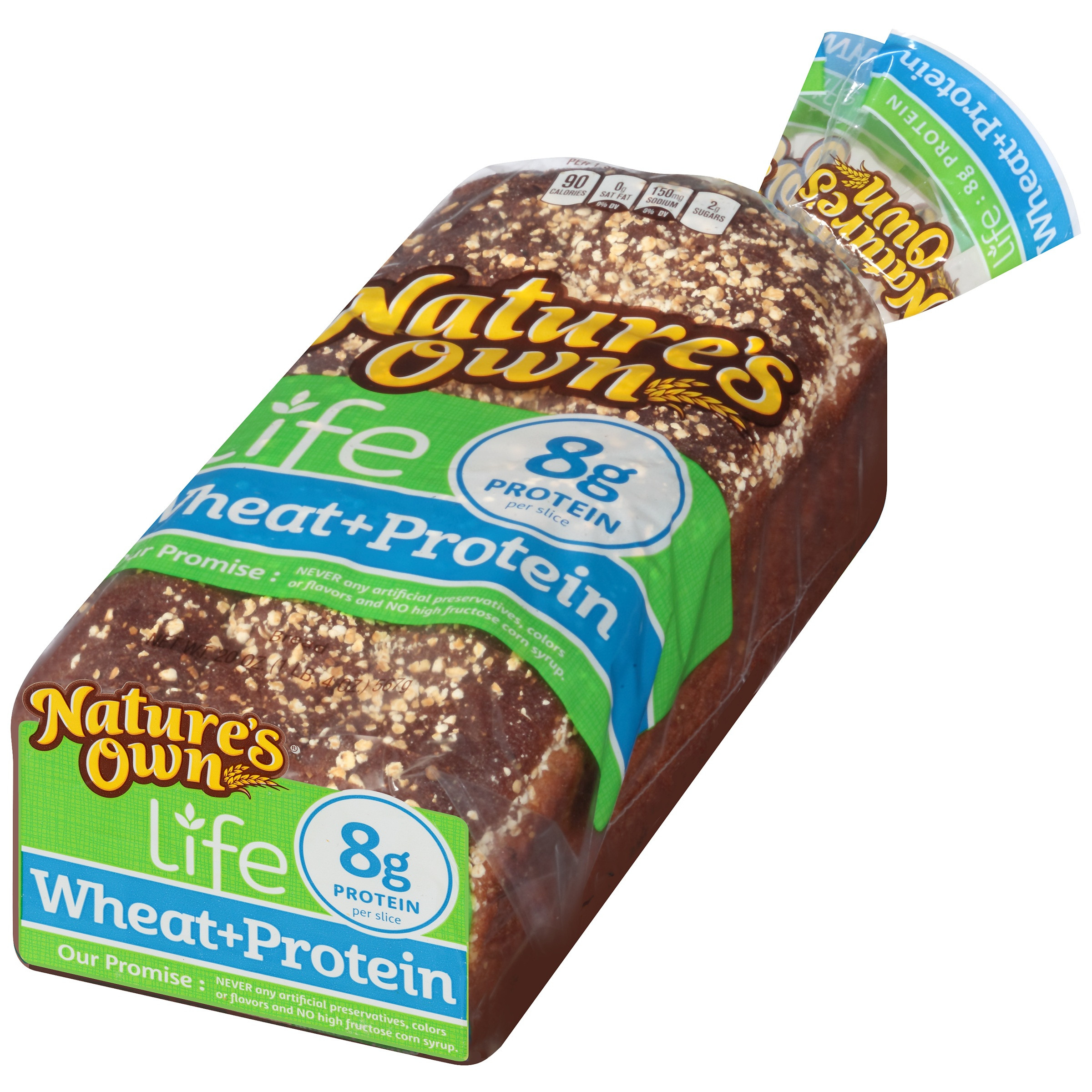 Healthy Life Bread Walmart  Nature S Own Whitewheat Bread Nutrition Facts