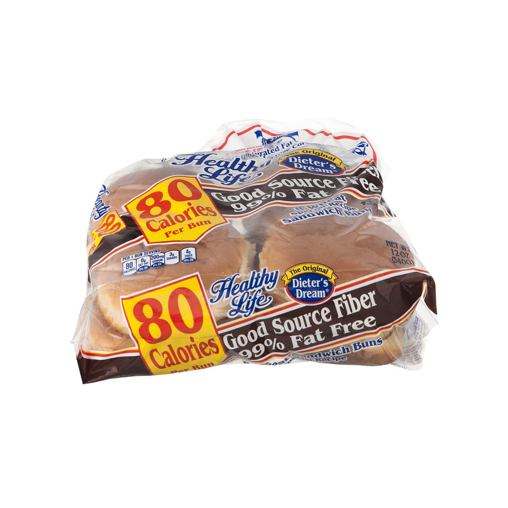 Healthy Life Bread Walmart  carb count for wheat roll