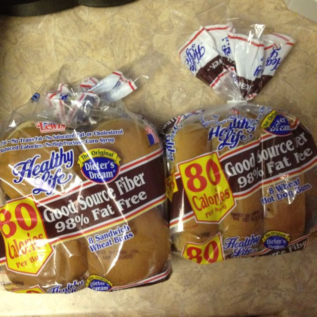 Healthy Life Bread Walmart  2 weight watchers points plus hamburger and hotdog buns