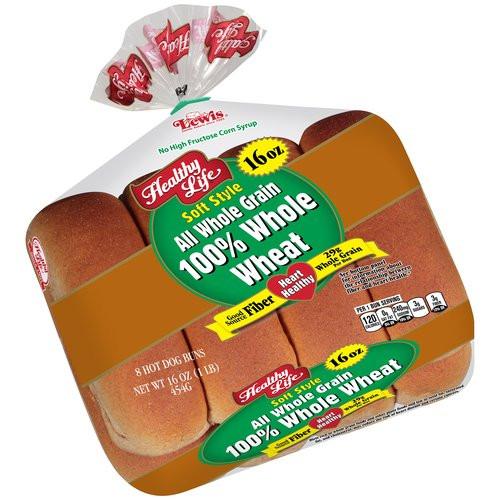 Healthy Life Bread Walmart  Hartford Farms Wide Pan Bread Whole Wheat 24 ounce