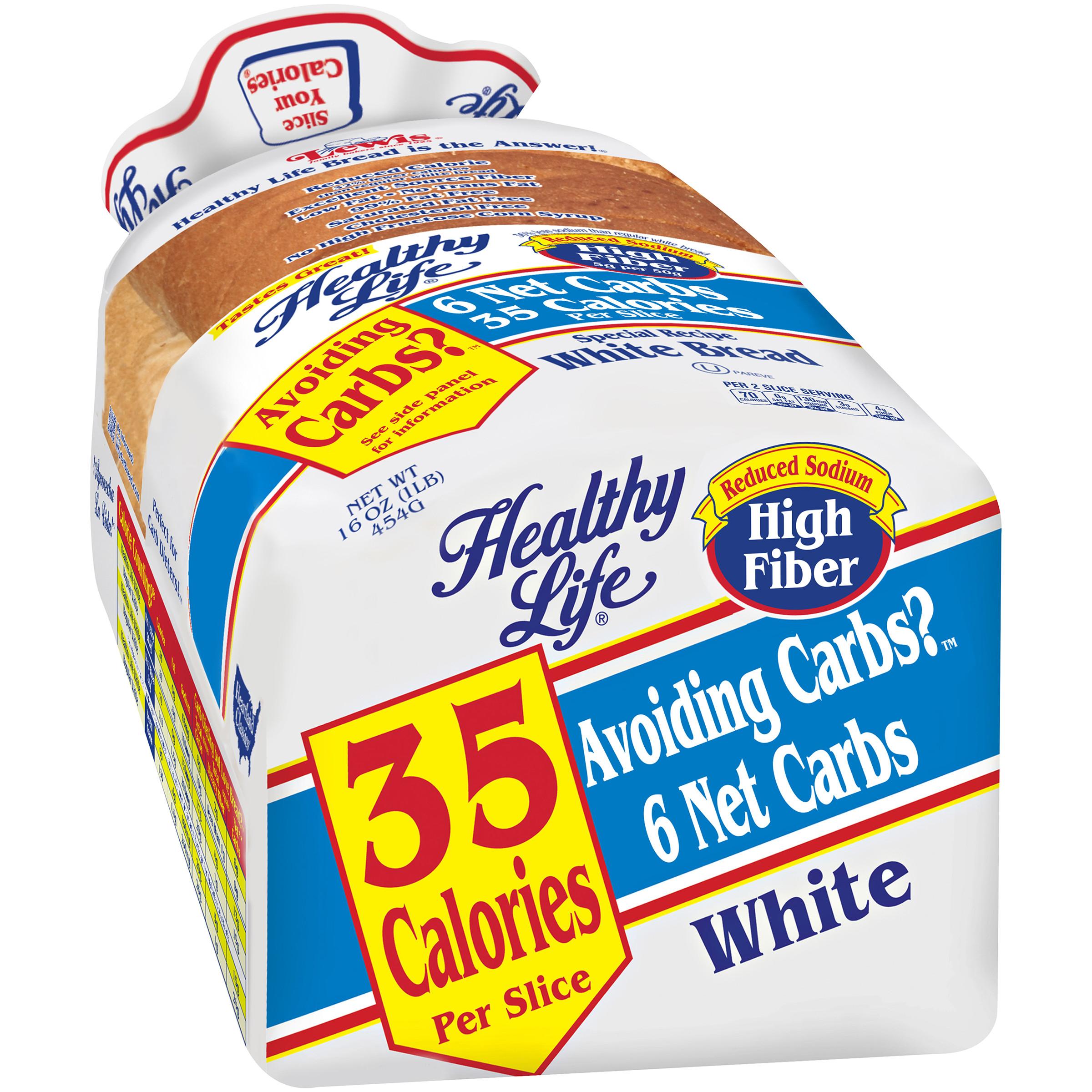 Healthy Life White Bread  healthy bread brands