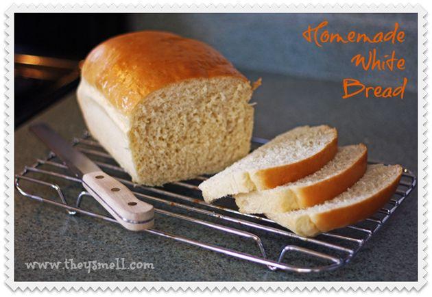 Healthy Life White Bread  Homemade white bread Recipe
