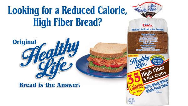 Healthy Life White Bread  35 calorie bread