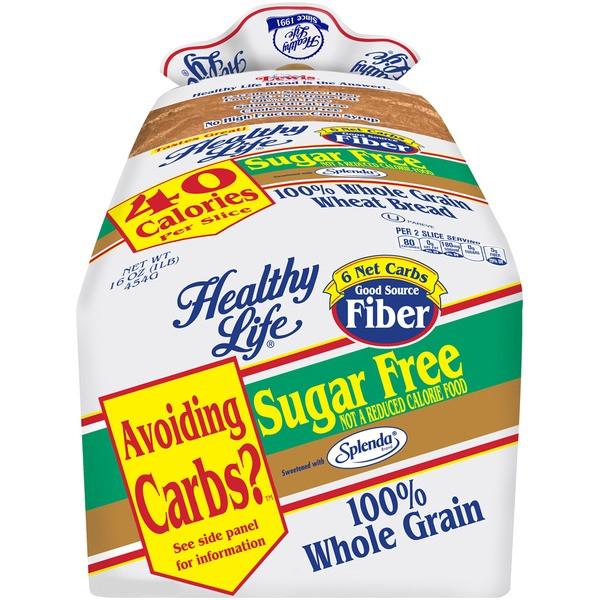 Healthy Life Whole Wheat Bread  Kroger Healthy Life Sugar Free Whole Grain Wheat