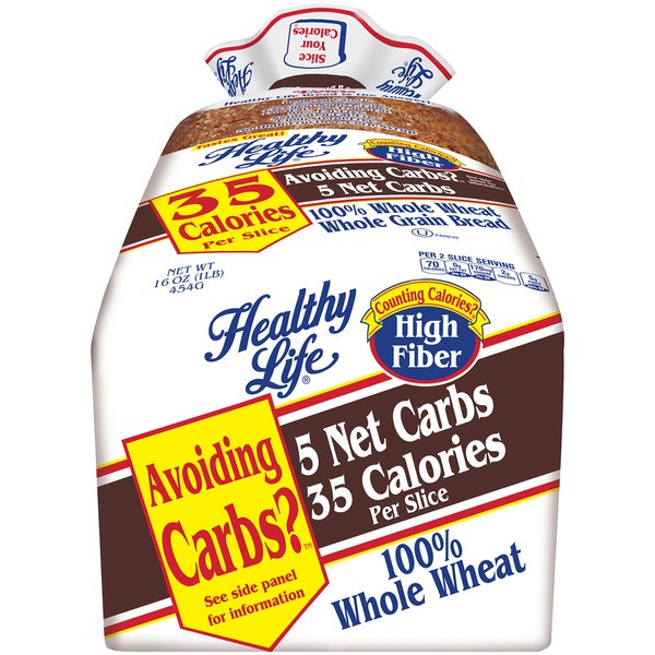 Healthy Life Whole Wheat Bread  Healthy Life Whole Wheat Whole Grain Bread from Jewel