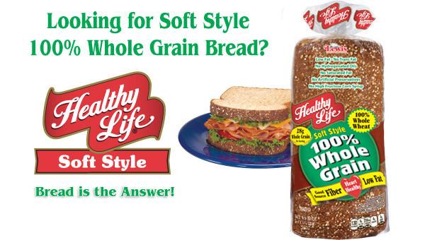 Healthy Life Whole Wheat Bread  healthy bread brands