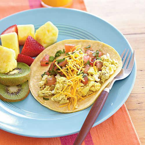 Healthy Light Breakfast  Quick Breakfast Burritos Grab and Go Quick Breakfast