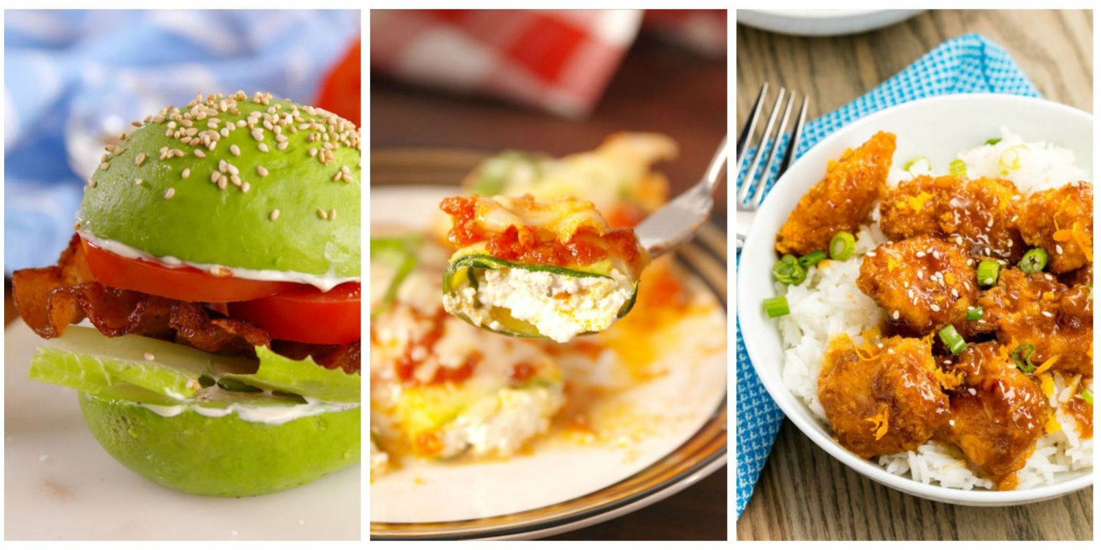 Healthy Light Lunches  40 Healthy fort Food Recipes Light Dinner Ideas