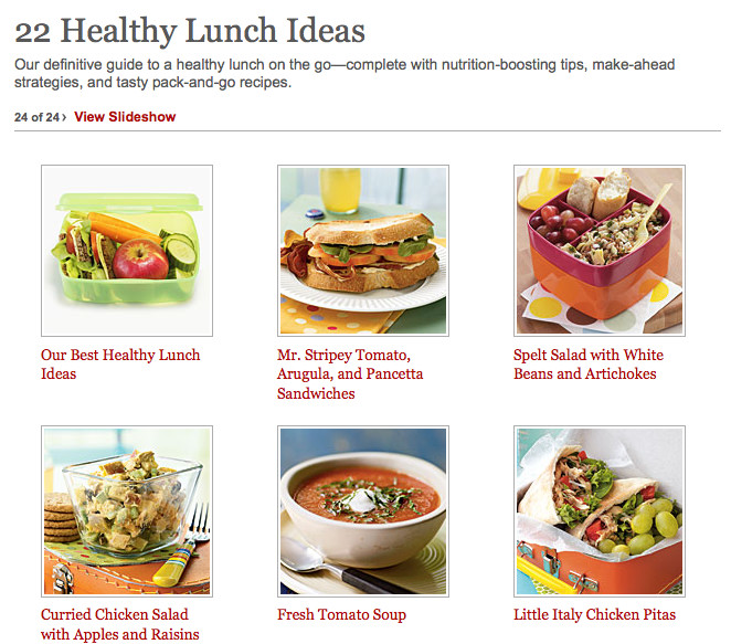 Healthy Light Lunches  22 Healthy Lunch Ideas