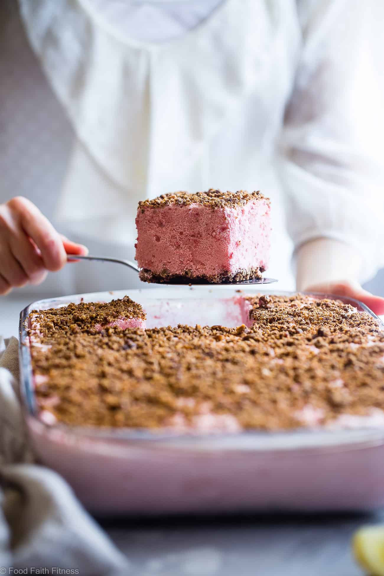 Healthy Low Cal Desserts  Healthy Frozen Strawberry Dessert Recipe