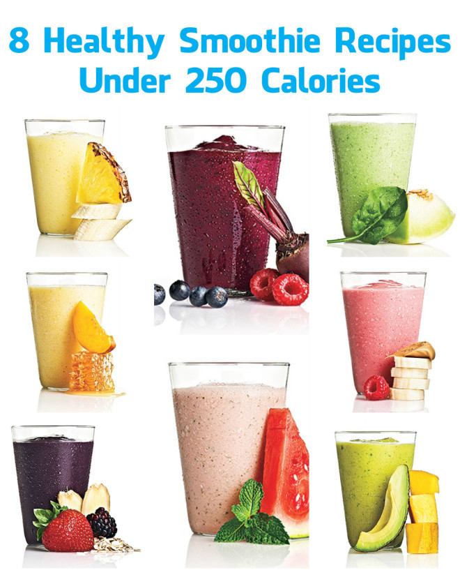 Healthy Low Cal Smoothies  8 Healthy Smoothie Recipes Under 250 Calories