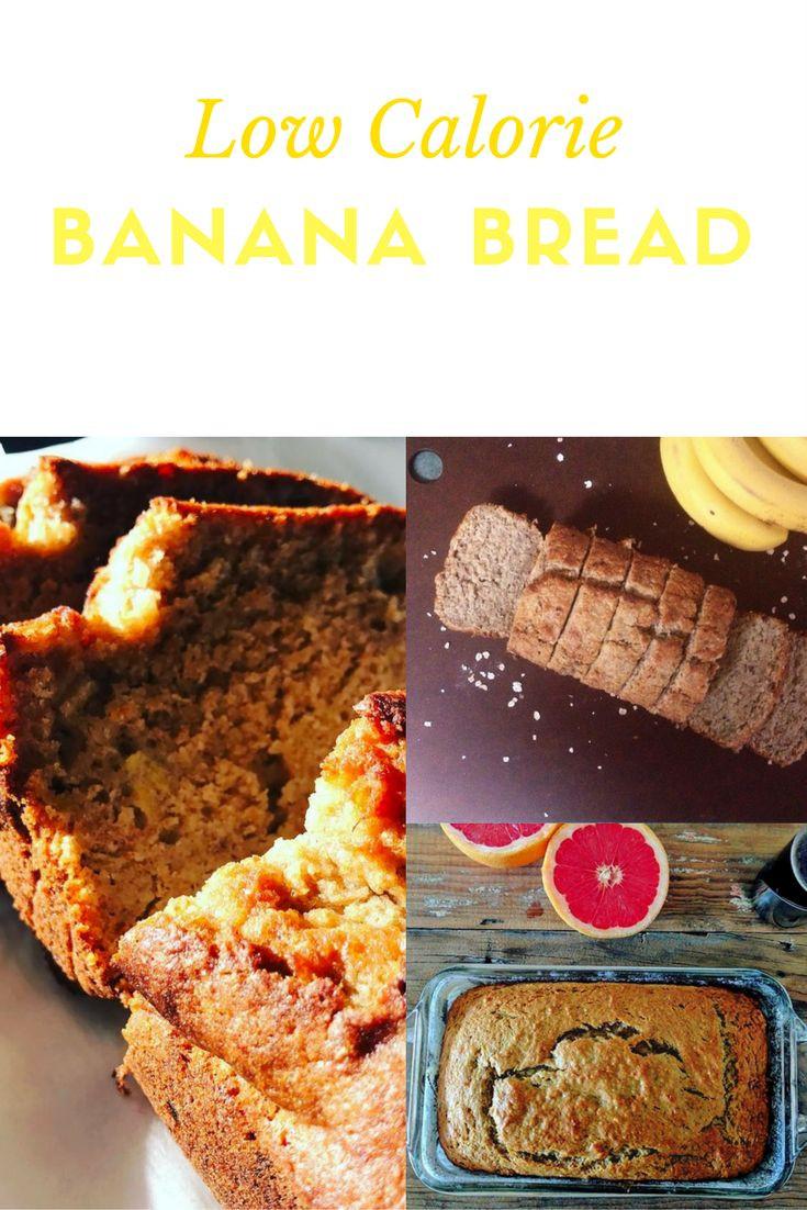 Healthy Low Calorie Bread  Low Calorie Banana Bread Recipe Uses Artificial