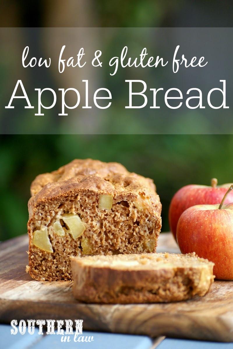 Healthy Low Calorie Bread  Southern In Law Recipe Healthy Apple Bread